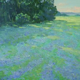 Blue Morning by Olena Kishkurno