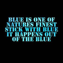 Blue Nature by Khalifa Bashir