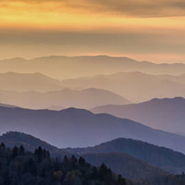 Blue Ridge Layers by Eric Albright