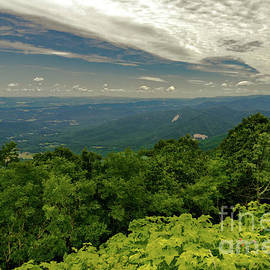 Blue Ridge Mountains Soaring  by Norma Brandsberg