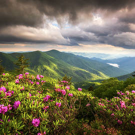 Blue Ridge Parkway Landscape Photography Asheville NC Appalachian Mountains North Carolina by Dave Allen