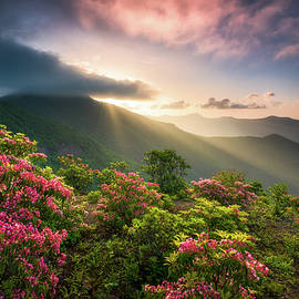 Blue Ridge Parkway Photography Craggy Gardens Asheville NC Scenic Landscape by Dave Allen