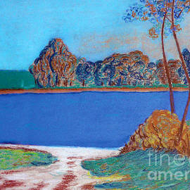 Blue River by Jasna Dragun