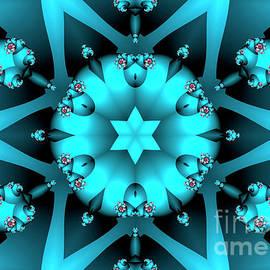 Blue Star by Jutta Maria Pusl