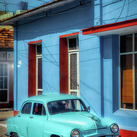 Blue Topolino by Micah Offman