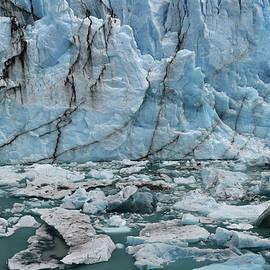 Cracks in the Blue Wall, Perito Moreno Glacier