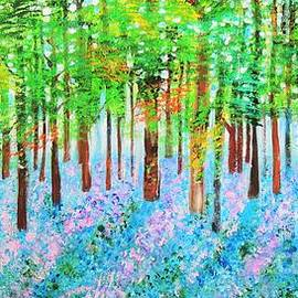 Bluebells Wood by Shahid Zuberi