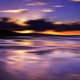 Blurred Sunset, Tasmania, Australia by Imi Koetz