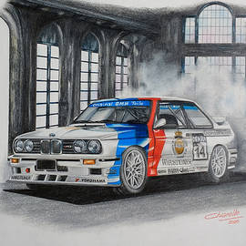 Bmw M3 Dtm by Nicky Chiarello