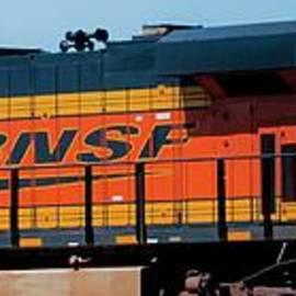 BNSF Railway by Janna Saltmarsh