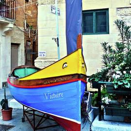 Boat In Malta by Raven Deem