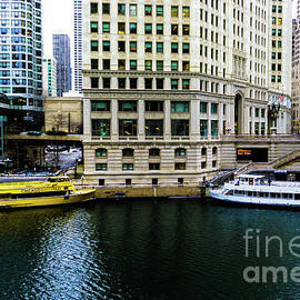 Boats Docked in Chicago by DRD Images