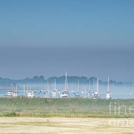 Boats In The Mist by Catherine Sullivan