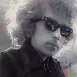 Bob Dylan The Freewheelin by Mark Tonelli