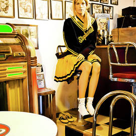 Bobby Soxer Girl on Route 66 by Tatiana Travelways