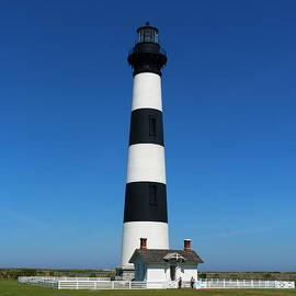 Bodie  Lighthouse On The Outer Banks by Christiane Schulze Art And Photography