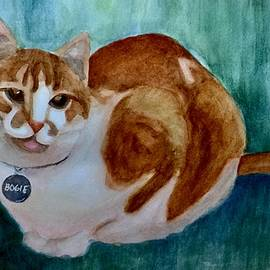 Bogie, the Lovable Cat by Forrest Fortier