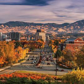 Boise autumn glory by Vishwanath Bhat