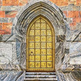 Bok Tower Brass Entry Door  -  boxtowerbrassdoorentry168942