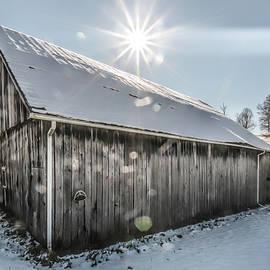 Bokeh Barn by Jim Love