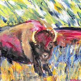 Bold Buffalo Bull  by Patty Donoghue