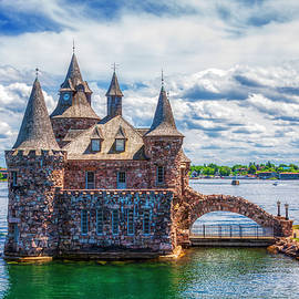 Boldt castle on St. Laurence river, Onario, Canada by Tatiana Travelways