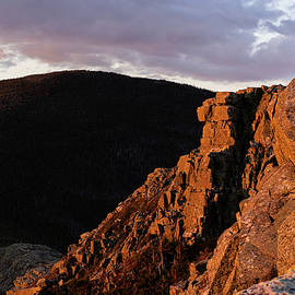 Bondcliff at Sunset by William Dickman