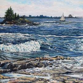 Boothbay Harbor, Maine by Eileen Patten Oliver