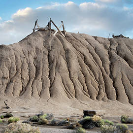 Borax Mine Landscape, Death Valley California 2020 by Michael Chiabaudo