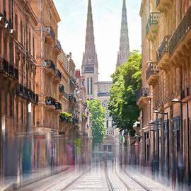 Bordeaux France Rue Vital Carles  by Carol Japp