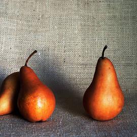 Bosc Pears Still life by Vishwanath Bhat