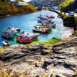 Boscastle Harbour And Village, Cornwall, UK by Paul Thompson