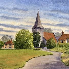 Bosham Village by Michael Baker
