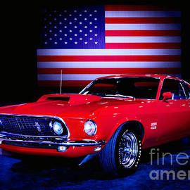 BOSS 429 Mustang American Muscle by Thomas Burtney