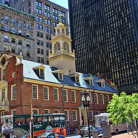 Boston - Old State House by Allen Beatty