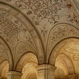 Boston Public Library Arches