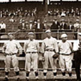 Boston Red Sox Baseball Team 1914 by Joe Vella