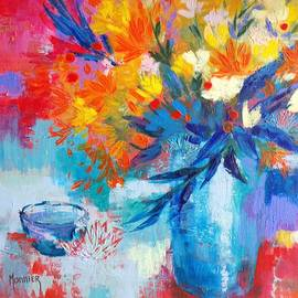 Bouquet de couleurs by Cathy MONNIER