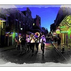 Bourbon Street Minstrels by Jeff Watts