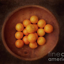Bowl of Oranges by Natural Abstract Photography