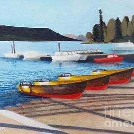 Bowness Boats by Timothy Lancaster