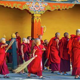 Boy Monks by Leslie Struxness