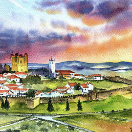 Braganca Medieval Town in Portugal by Dora Hathazi Mendes