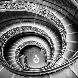Bramante Spiral Staircase, Vatican City, Rome by Neale And Judith Clark