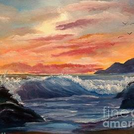 Breaking Wave by Lee Piper
