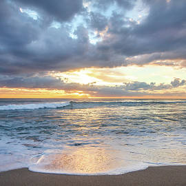 Breaking Waves at Dawn  by Debra and Dave Vanderlaan