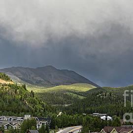 Breckenridge Rainbow Panorama by Catherine Sherman