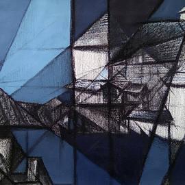 Bricoleur of Space Series - B by Ramesh Nair