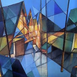 Bricoleur of Space Series - Z by Ramesh Nair