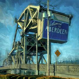 Bridge Aberdeen WA by Mike Penney